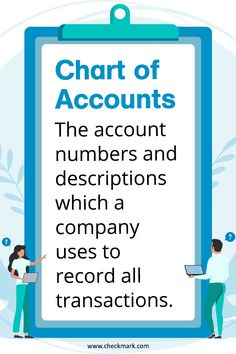 Chart of Accounts - principels of business - Chart of Accounts: The account numbers and descriptions which a company uses to record all transact - Learn Accounting, Accounting Basics, Accounting Principles, Accounting Student, Bookkeeping And Accounting, Bookkeeping Business, Small Business Accounting, Accounting And Finance, Business Education