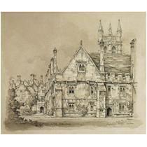 Magdalen College Oxford van Pieck, Anton