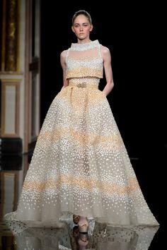 Défilé Ziad Nakad Printemps-été 2017 Haute couture   Le Figaro Madame