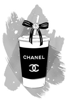 Fashion Artwork, Fashion Wall Art, Chanel Wallpapers, Cute Wallpapers, Chanel Print, Chanel Poster, Chanel Wall Art, Mode Poster, Aesthetic Iphone Wallpaper