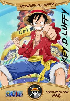 """Monkey.D.Luffy """"Gear 4th""""©Eichiro Oda"""