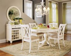 White Dining Room Table Fancy White Round Kitchen Tables Table Set The  Farmhouse Dining