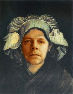 Vincent Van Gogh - Woman from Brabant