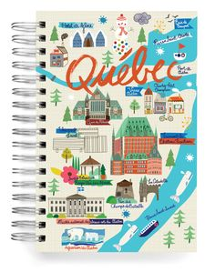 JOURNALS :: Jumbo Journals :: Quebec Jumbo Journal - Ecojot - eco savvy paper products