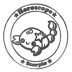 cute-horoscope-stamp-Scorpio-sign-of-the-zodiac-161087-1.jpg (500×500)