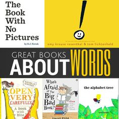 The Book with No Pictures has been added to most people's shopping baskets recently but what other books are about words and how they work to bring meaning to a story? Visit http://youclevermonkey.com to read more.