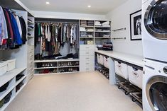 Modern Closet with Easy Track Closet 8 in. White Hutch Drawer - RD2608, Custom closet storage, Steele divided canvas sorter