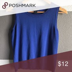 "august silk petite Top 🔵 august silk petite top | Size: Medium, Flat Measurements- Shoulders: 12.5"" Bust: 17"" Length: 19.5"" 
