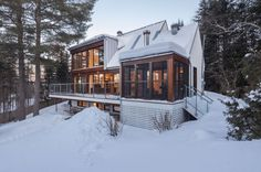 |Cabane 217 by Bourgeois Lechasseur Architectes | Home DSN