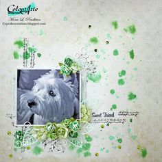 Sweet Friend ~ Cupcake's Creations (Mona) - ColourArte - using Luminarte Radiant Rain Mists