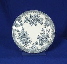 Parliament by Premiere England Pattern Asiatic Pheasants Blue Saucer bfe1723 #ParliamentbyPremiere