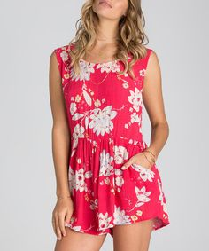 Another great find on #zulily! Wild Berry Floral Desert Dreams Romper #zulilyfinds
