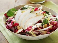 Kleuren van de herfst - Herfstsalade met peer en radicchio recept