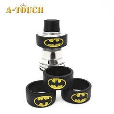 45255aa60da201 2017 Latest Popular Cartoon Batman Superman Silicone Rubber Band Vape Ring  For Protection Vape Mod Band 10pcs lot Mixed Colors-in Electronic Cigarette  ...