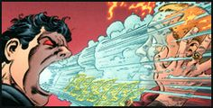Sun Boy of Earth-Prime is frozen to death by Superboy Prime. From Legion of Three Worlds #3 (2009). Art by George Pérez.