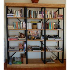 Düz Loft Kitaplık