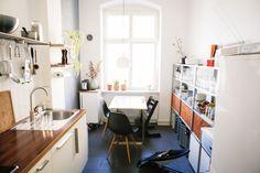Sven Hausherr's apartment in Berlin / photo by Philipp Langenheim