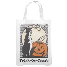Halloween Trick-Or-Treat! Grocery Bag 2