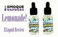 Introduction Smoque Vapours creates a diversified portfolio of vape juices using only high quality, natural ingredients. Each time they send us eliquid for our team to review we can count on them being high-quality and safe. #eLiquid Review #LEMONADE #smoque vapours #spinfuel eliquid team review
