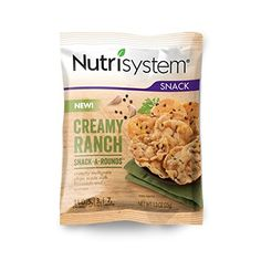 Nutrisystem® Creamy Ranch Snack-A-RoundsTM 8 Count >>> Visit the image link more details.