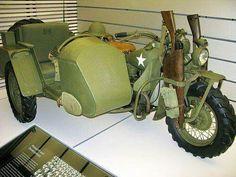 Army WWII harley