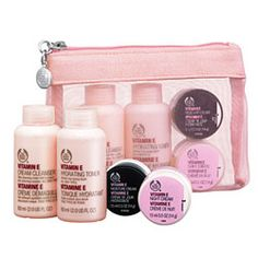 Protecting & Nourishing Vitamin E Skin Care Starter Kit | The Body Shop ®