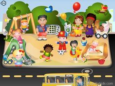 Ben on the Bus - seek and find kids apps