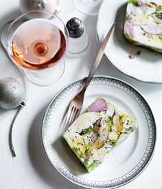 Ham and chicken terrine recipe :: Gourmet Traveller