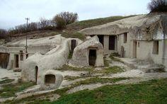 barlanglakások Noszvajon