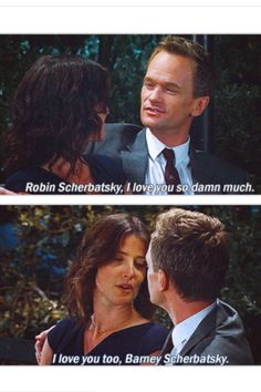 HIMYM Barney and Robin :) #cutecouple