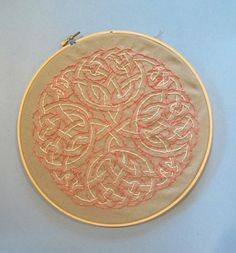 7th celtic embroidery.