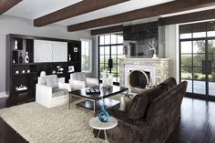 Westlake Residence - contemporary - living room - austin - Tracy Miller/Miller Greene Design Studio