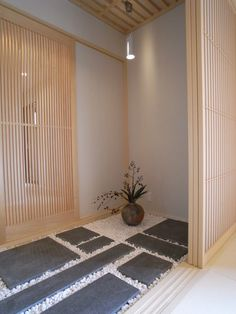 """This could be a kind of outside-inside """"mud room"""" thus cutting back on interior square footage but also allowing for this fusion."""