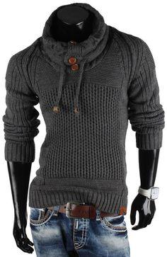 TAZZIO Herren Pullover Strickjacke Jacke Größen S-XXL: Amazon.de: Bekleidung