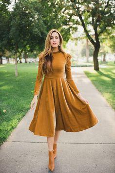 Modest Dresses for Women and Juniors Modest Dresses, Modest Outfits, Fall Outfits, Casual Dresses, Maxi Dresses, Elegant Dresses, Modest Clothing, Work Dresses, Formal Dresses
