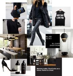 All Black Everything by Nam Dang Mitchell