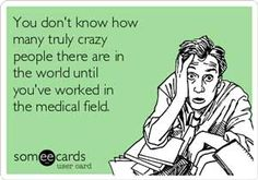 medical Humor Medical Basics - Medical Education Made SimpleMedical crazy patients. medical Humor Medical Basics - Medical Education Made Simple When you work in a busy medical office Best funny quotes & pictures ever Lab Humor, Medical Memes, Nursing Memes, Funny Medical, Nursing Schools, Medical Careers, Funny Nursing, Work Memes, Work Quotes