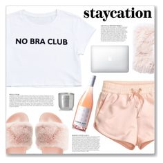 """Rest Up: Staycation"" by myduza-and-koteczka ❤ liked on Polyvore featuring H&M, Qupid, Jaipur, Anja and Tom Dixon"