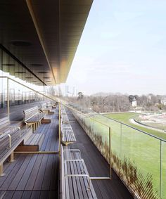 dominique perrault adds to the timeless elegance of paris' longchamp racecourse