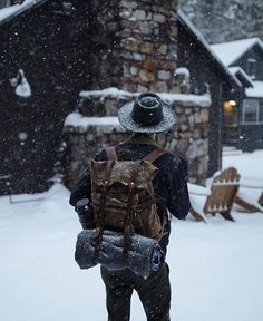 Winter is coming! Time to pack your stuff for adventures.
