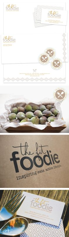 The Fit Foodie Brand - Nutritionist Brand Design by Salted Ink
