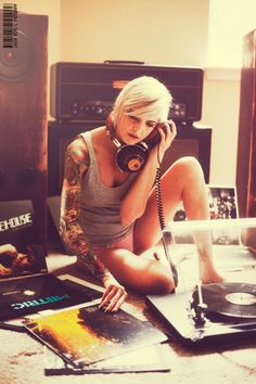 Girls and Vinyls