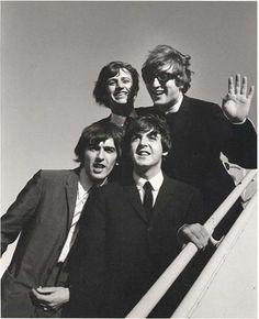 The Beatles, 1964. Photo: Bill Ray.
