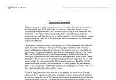 Dissertation proposal on a evaluative study,