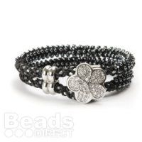 Learn how to make the Kumihimo Monochrome Daisy Fleur Bracelet.   This project is suitable for those who are familiar with kumihimo techniques and have tried adding seed beads to their braids before.  http://www.beadsdirect.co.uk/gallery/detail/monochrome-daisy-fleur-bracelet/