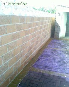 Pavimento de hormig n impreso con molde tipo adoquin en for Hormigon impreso almeria