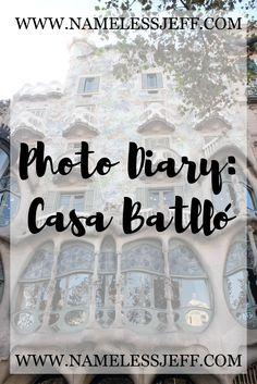 Photo Diary: Casa Batlló - Inside Antoni Gaudí's Modernist Museum in Barcelona, Spain.