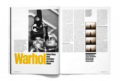 Warhol spread, Frame magazine