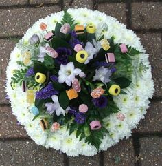 funeral flowers - Mixed Allsorts Posy
