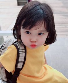 Asian half ulzzang kawaii Fashion 可愛い ღ Cute Asian Babies, Korean Babies, Asian Kids, Cute Babies, Half Asian Babies, Cute Little Baby, Baby Kind, Cute Baby Girl, Little Babies